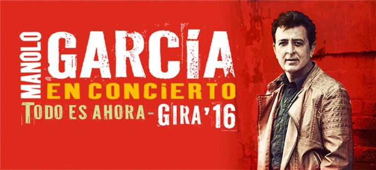 Gira Todo es Ahora de Manolo Garcia